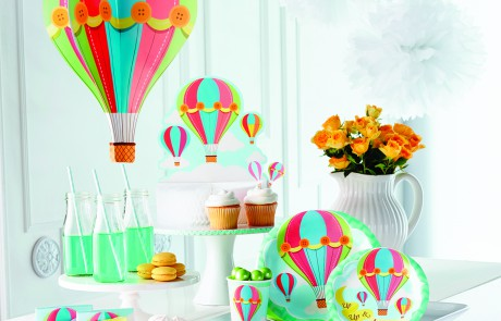 Baby Shower accessories - Hot air balloon