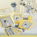 Elegant Decorations and accessories | Yellow Umbrella | Baby shower