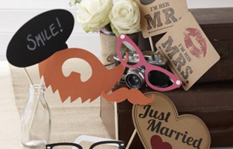Σετ Photo Booth για γάμο