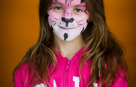 Face painting for kids parties and events youpi party events face painting pink panther girls solutioingenieria Image collections