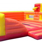 Hire | jumping Castle with basketball hoops 38 | Price 299 €