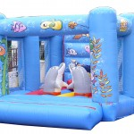 Hire | Jumping Castle with Dolphins 30 | Price 179€