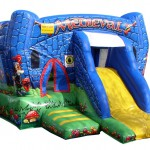 Hire | Jumping Castle | Medieval Castle with slide 39 | Price 229€