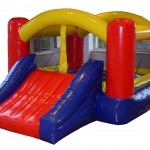 Hire |Bouncing Castle with slide 28 | Price 159€