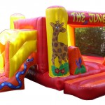 Hire | Inflatable Castle | Jungle theme with slide 36 | Price 229€