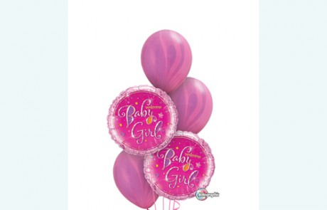 Welcome Baby Girl | Pink