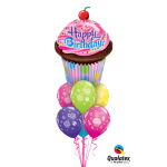 Balloon Bouquets | Cupcake |Birthday Princess | Pink