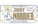 Just Married | Wedding Decorations | Newly Weds
