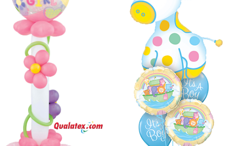 Balloon Bouquets for new borns