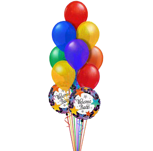 Balloon bouquets and decorations for parties and events