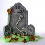 "Halloween accessories "" I'll be back"" ""rip"""