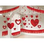 Είδη πάρτυ Άγιου Βαλεντίνου διακοσμηση με καρδιες